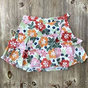 Gymboree little girl skirt with shorts size 5